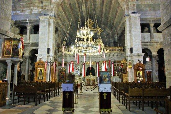 Panayia Ekatondapiliani Cathedral: intérieur de Ekatontapiliani
