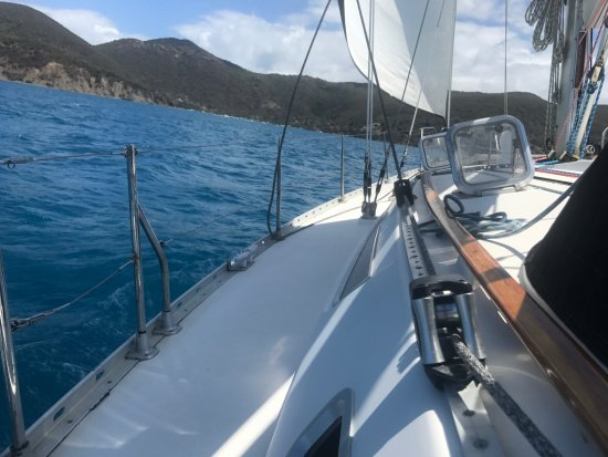 St. John Yacht Charters Survivan: This boat is beautiful inside and out