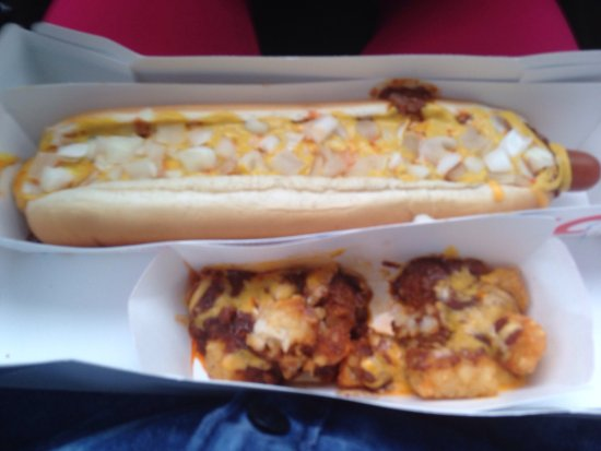 Lanett, AL: Chill Cheese Coney and Chill Cheese Tots