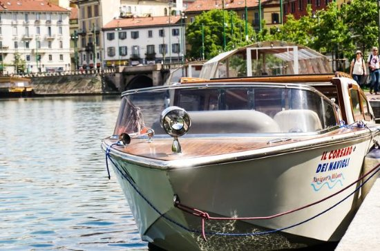 Milan Navigli Sightseeing Cruise on a...