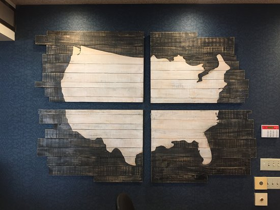 Best Western Plus Big America: Most Inaccurate Map of USA Ever