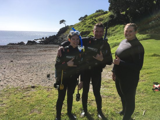 Waipapa, Nowa Zelandia: First Open Water Dive!!!