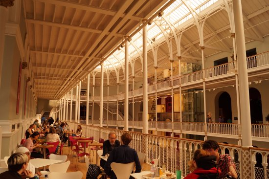 the balcony cafe picture of national museum of scotland