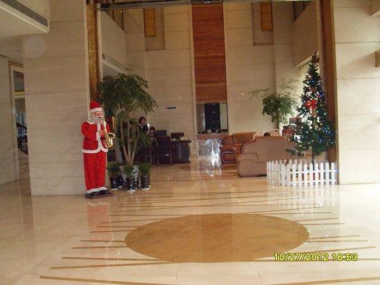 Шаосин, Китай: Дед мороз