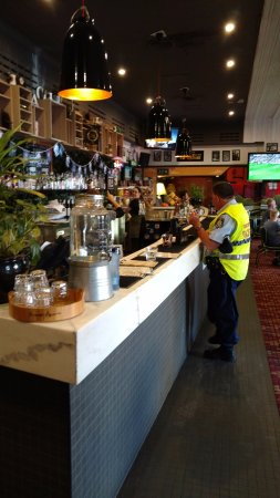 the great southern pub officer getting juice picture of great rh tripadvisor com