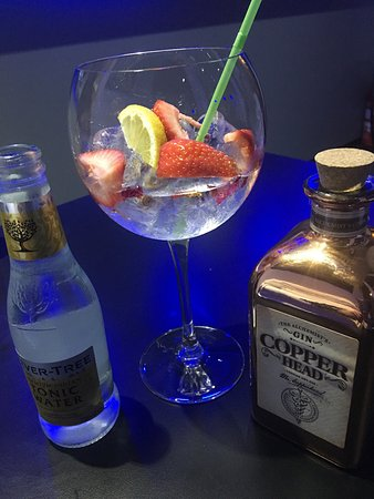 Wemmel, Belgia: Besides the fact that the food and the service is outstanding, they Have a Nice Selection of gin