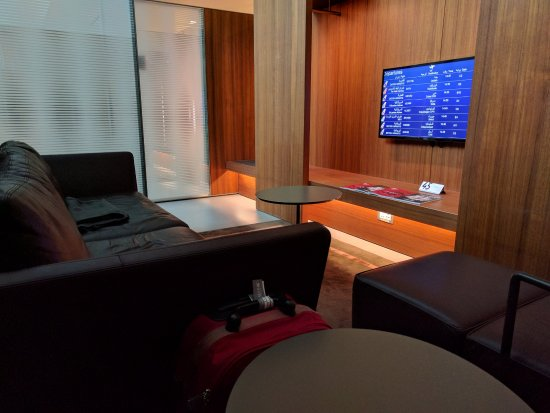 Al Mourjan Business Lounge - private rest area - Picture of