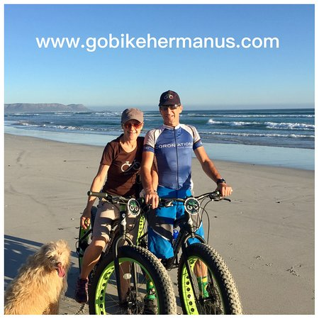 Hermanus, Zuid-Afrika: 30km to do fat bike beach rides