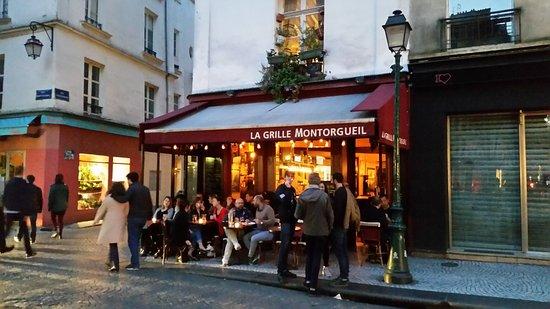 La grille montorgueil photo de la grille montorgueil paris tripadvisor - Restaurant la grille paris 10 ...