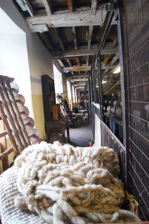 Uffculme, UK: wool to start