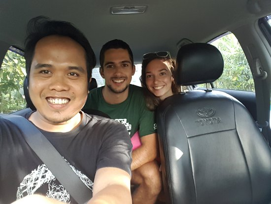 The Boss Edy ... Enjoy trip Buleleng Adventure with lovely couple from Slovenia