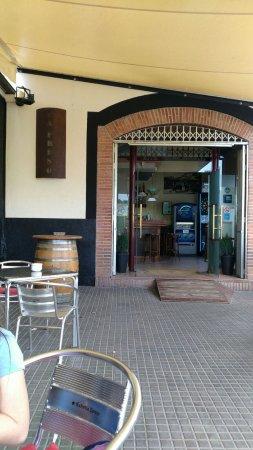 La Cellera De Ter, Spagna: Bar la presó