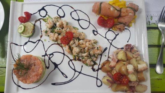 Mediterraneo Ristorante: Starter - Seafood Platter
