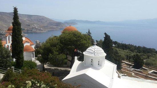 Pothia, Greece: Agios Savvas Monastery KALYMNOS