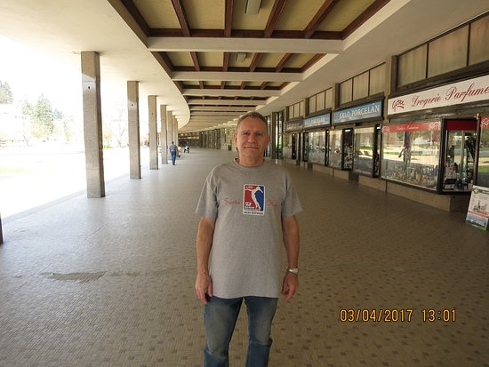 Luhacovice, Tsjekkia: kolonáda