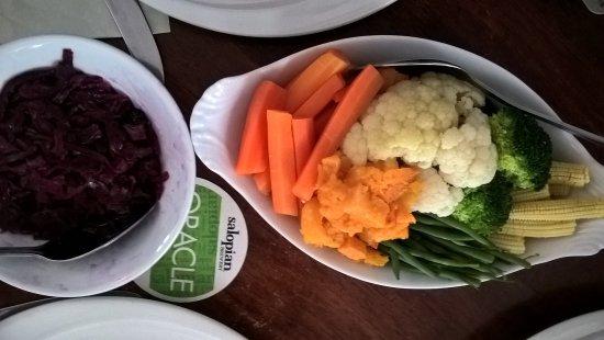 Montgomery, UK: Veg side dishes