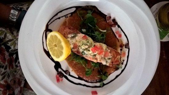 Montgomery, UK: Salmon