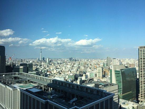 Shangri-La Hotel, Tokyo: View from window