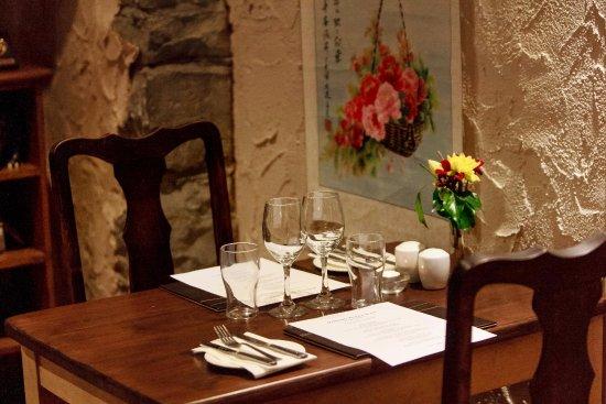 Oughterard, Irlanda: table setting