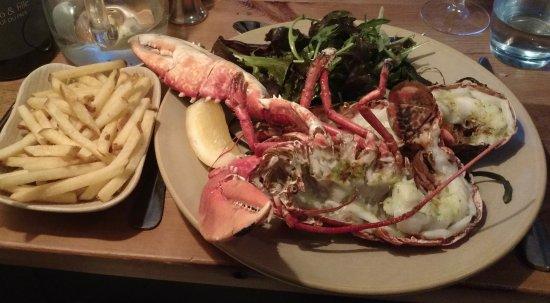 Port Gaverne, UK: Lobster - special