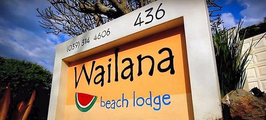 Wailana Beach Lodge: Wailana lodge