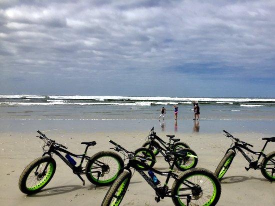 Hermanus, Sydafrika: Fat Bikes on Grotto Beach
