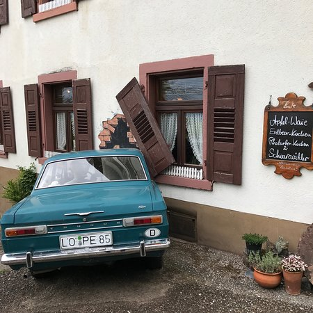Schopfheim, Alemania: Berggasthof Waldhaus