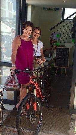Hermanus, Sudáfrica: GoBike shop