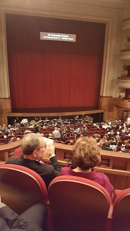 Teatro Pérez Galdós: La sala - interior