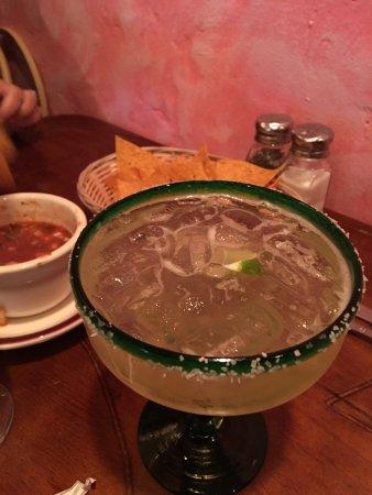 Palisades, NY: My Cinco de Mayo margarita and tequila shot