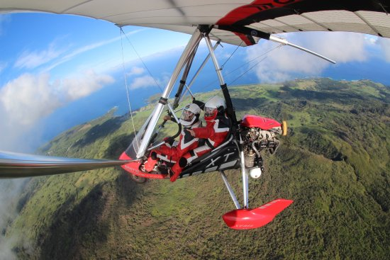 Hang Gliding Maui: Flying high and free in Maui!