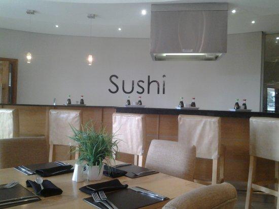 Аддо, Южная Африка: Sushi bar