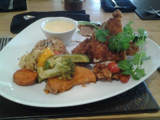 Аддо, Южная Африка: Chicken schnitzel