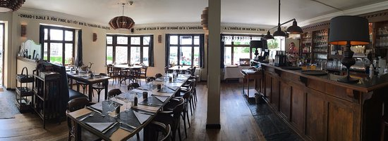 La Gleize, Belgique : restaurant le vert de pommier