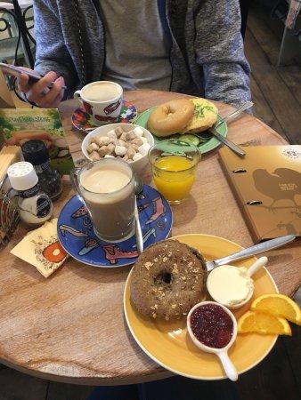 Bagels & Beans Van Baerlestraat Amsterdam : Great breakfast!