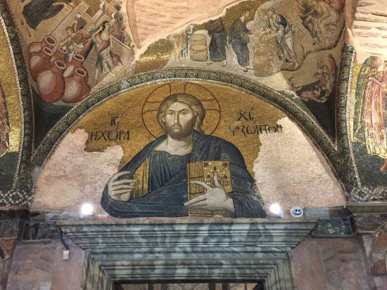 Turkey Tours by Local Guides: Mosaic in Chora Church, Istanbul.