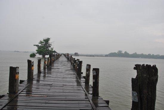 U Bein-broen: Puente de U-Bein, Myanmar