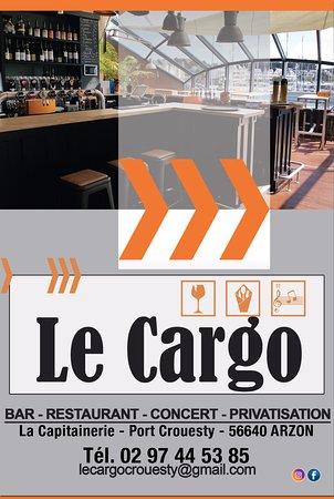 Le Cargo, Arzon - la capitainerie port crouesty - Restaurant Avis ...