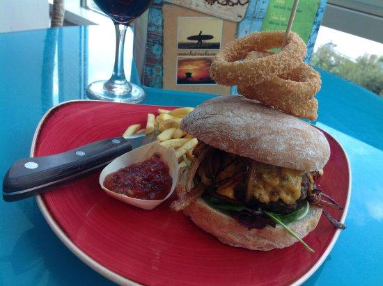 Hot Rocks: superb 10 oz Burger