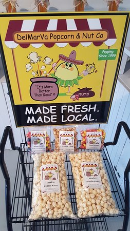 Milford, DE: We are now selling our Kettle Corn and Caramel Corn wholesale. Ask for us at your favorite store