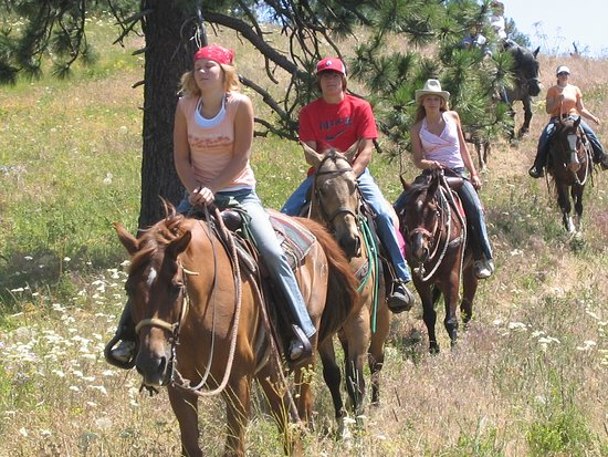 Grangeville, ID: Riders