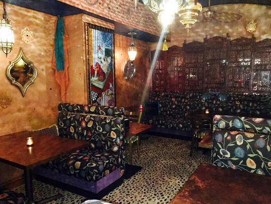Rutherford, NJ: New Moroccan Themed Front Room