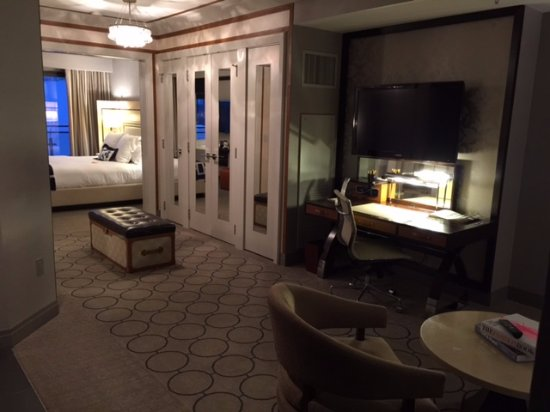 Terrace One Bedroom Suite From Entrance Picture Of The Cosmopolitan Of Las Vegas Autograph