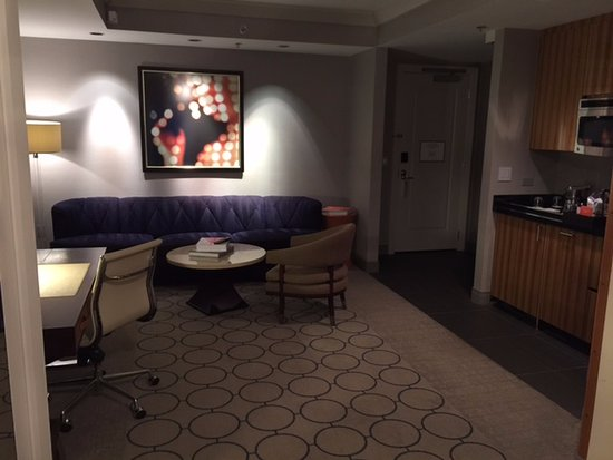 Terrace One Bedroom Suite Useless Kitchenette On Rhs Picture Of The Cosmopolitan Of Las
