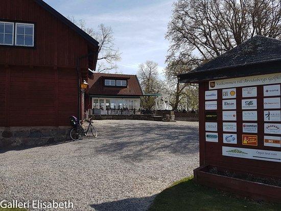 Åtvidaberg, Szwecja: Entré till restaurangen