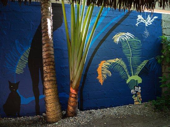 Manglaralto, Équateur : Mural