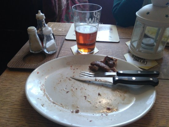 Hurdlow, UK: Empty Plate