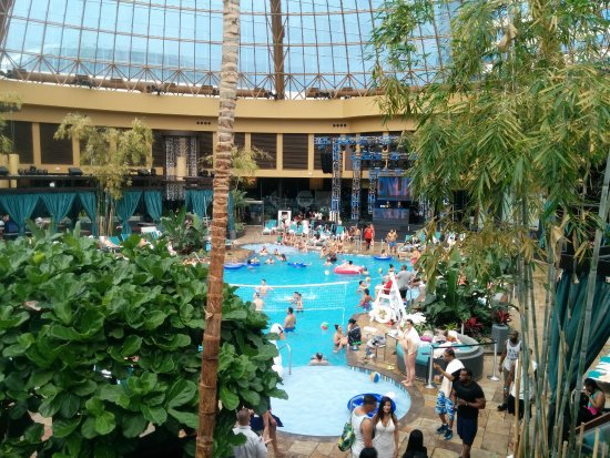 Saturday indoor pool day party picture of harrah 39 s for Pool show atlantic city