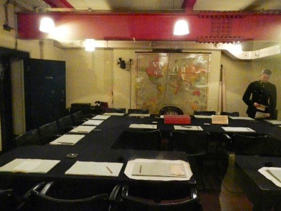 Churchills 39 bunker cabinet room picture of churchill war rooms london tripadvisor - Churchill war cabinet rooms ...