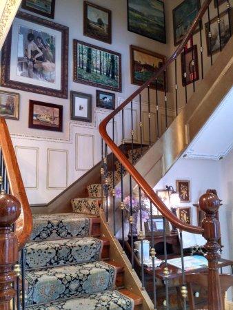 hotel boutique las brisas escaleras de acceso a la primera planta